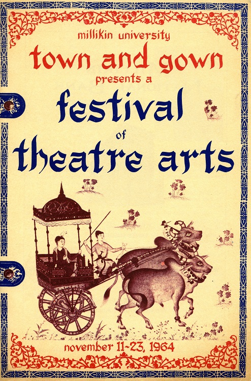 1964 Town & Gown play program