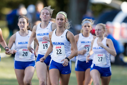 Millikin Womens Cross Country
