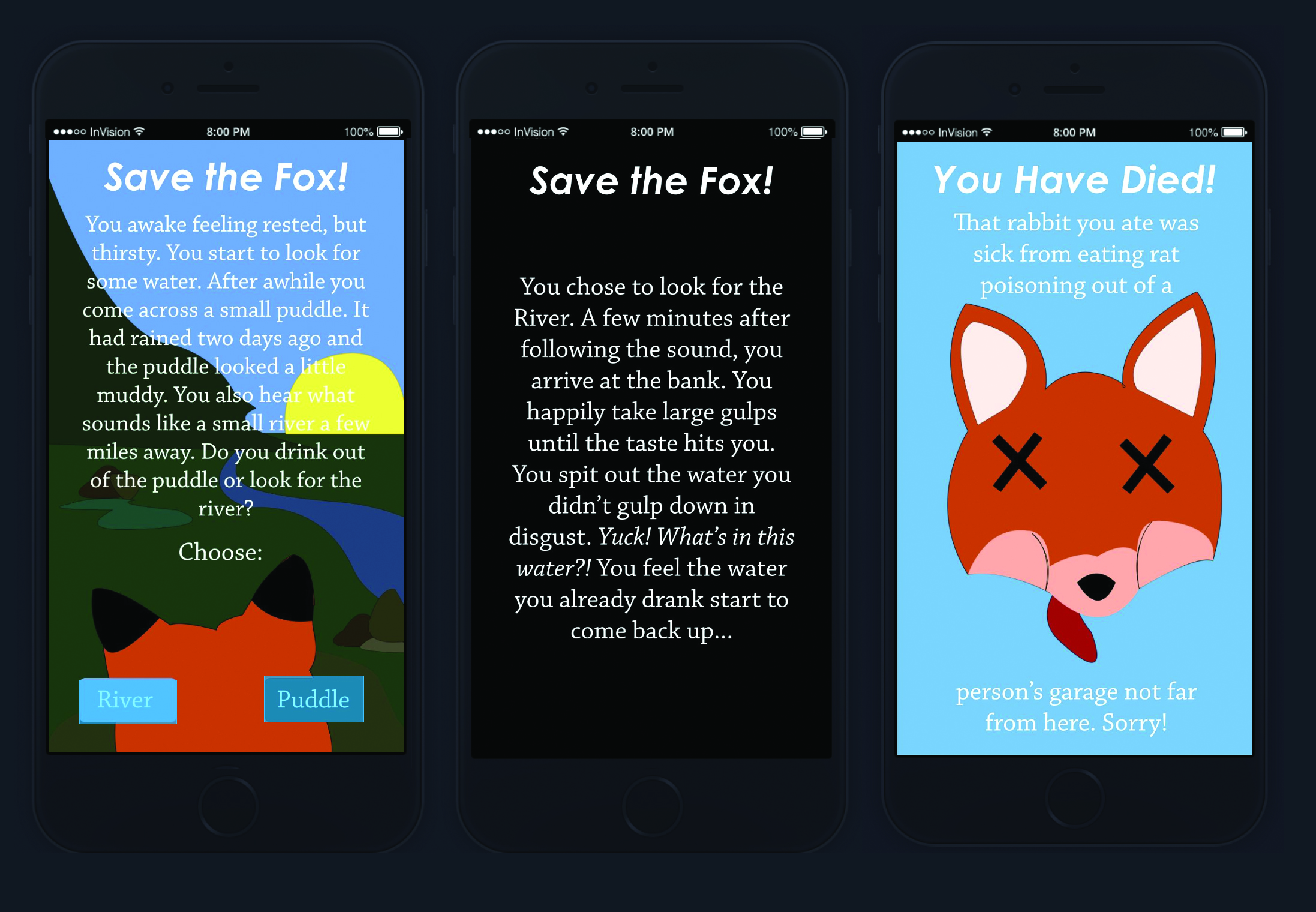 Save the Fox App Game