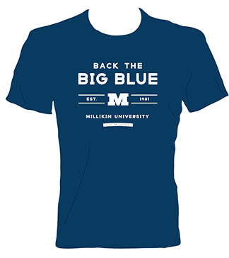 Back the Big Blue t-shirt