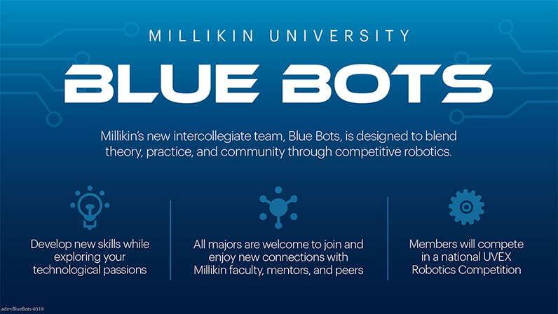Milikin University Blue Bots