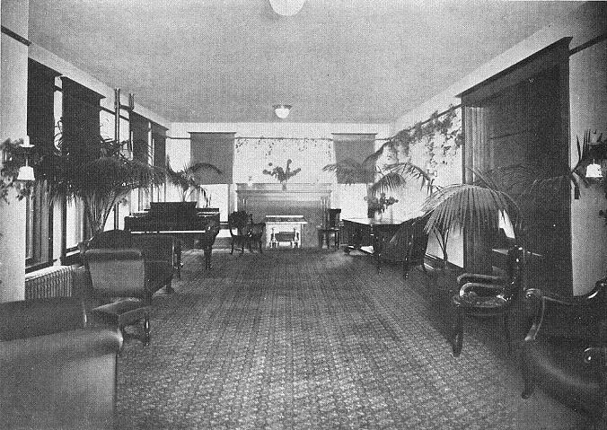 Aston Hall parlor, 1909