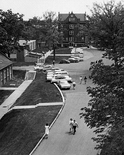 Aston Hall, Mueller Hall, and the SUB in the 1960s
