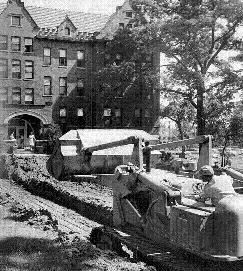 1961 construction of new dormitory