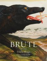 Book cover image for Brute : poems