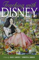 Book cover image for Teaching with Disney