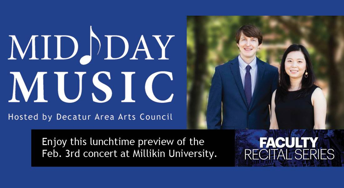 Mid Day Music featuring Sam Gingher Pei-Wang