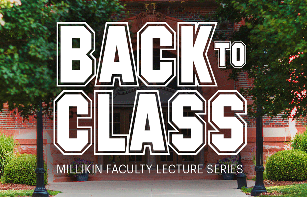 Back to Class Faculty Lecture Series