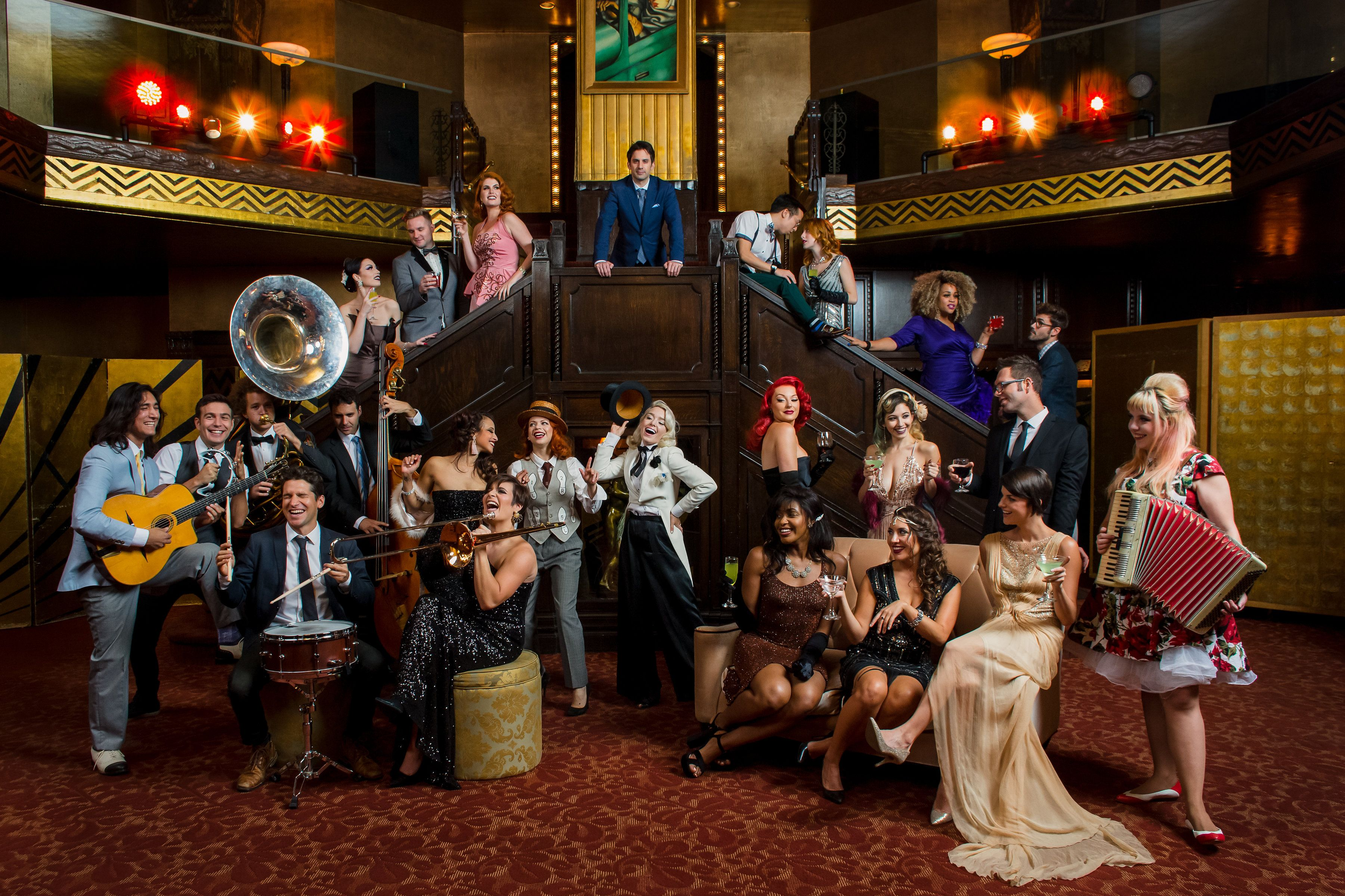 Postmodern Jukebox Group Picture