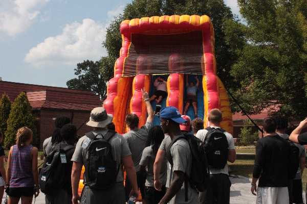 Big Blue Bash Celebration during New Student Welcome Week
