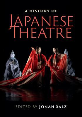 Book cover image for A history of Japanese theatre