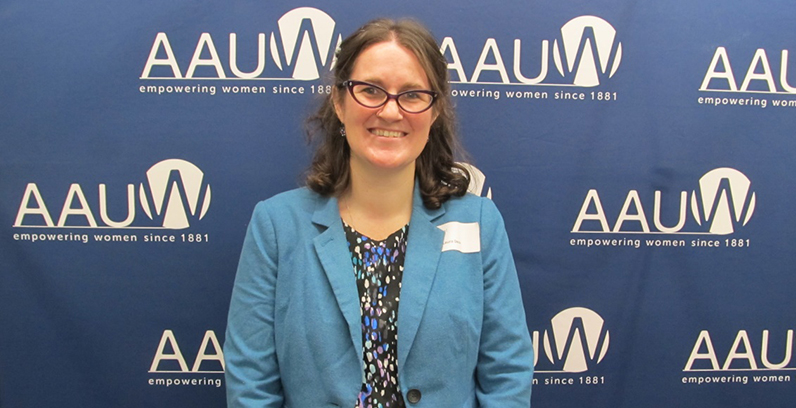 Millikin Assistant Professor Of Political Science Receives Prestigious AAUW Award