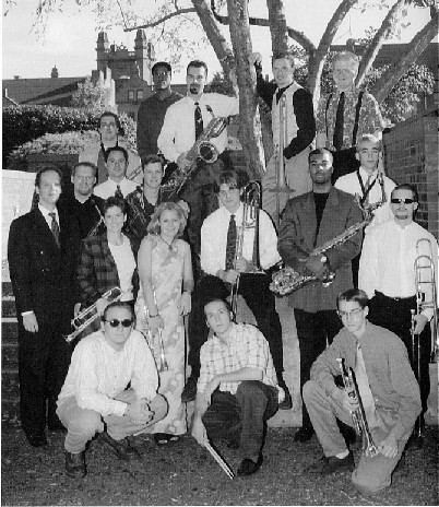 Jazz Lab Band in 1998
