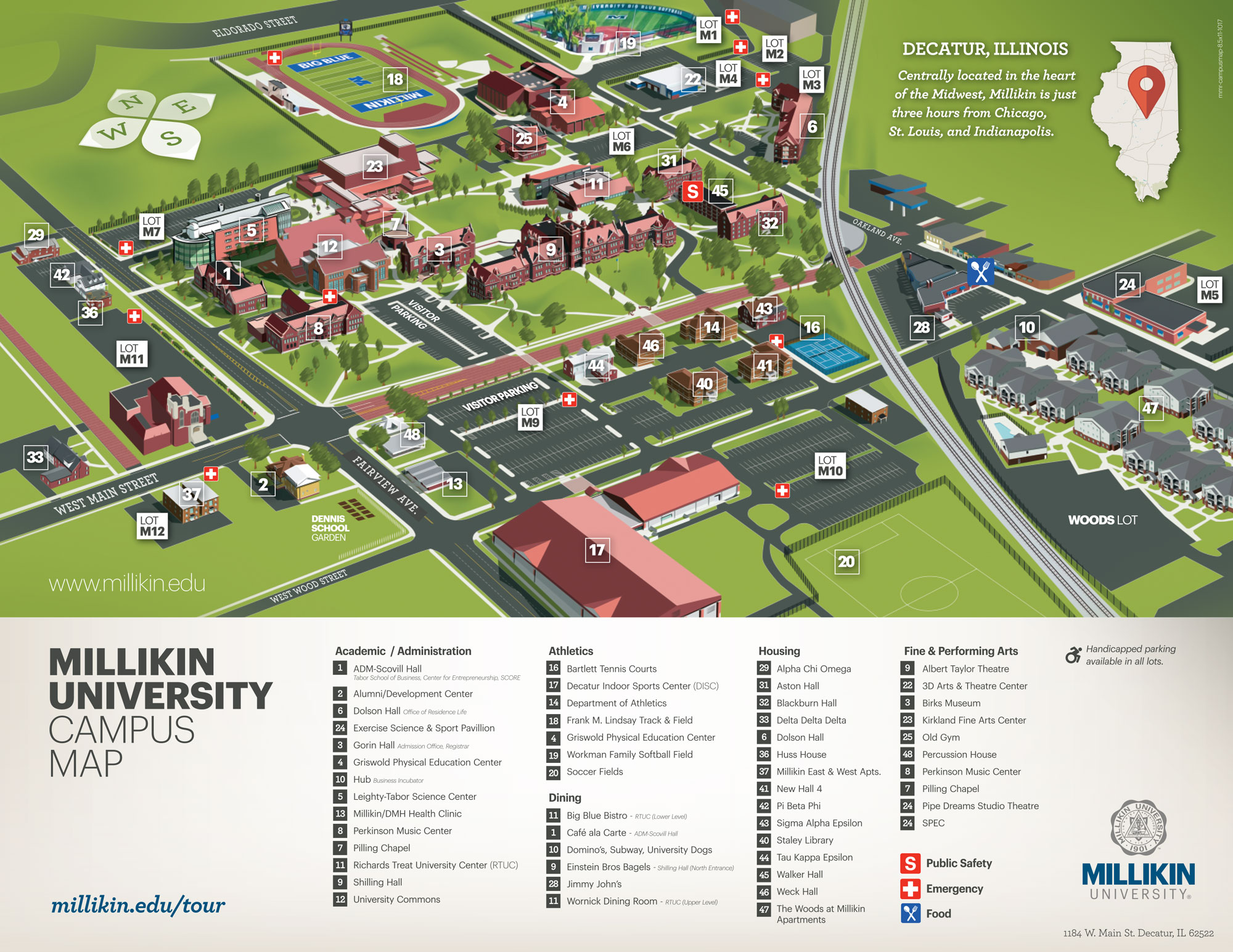 Queens College Campus Map leaflet map examples