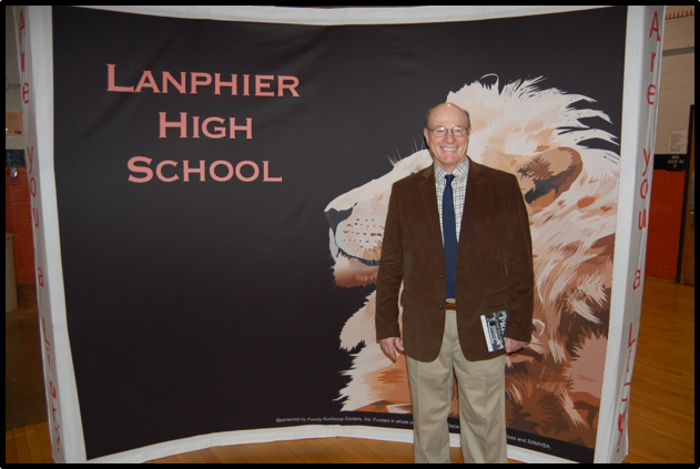 Kenneth C. Mitchell at Lanphier High School Hall of Fame