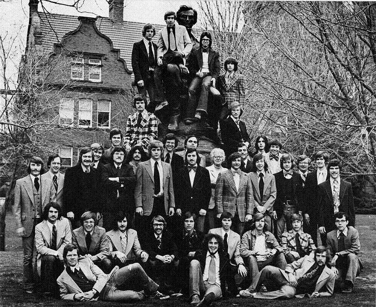 Image of Sigma Alpha Epsilon from 1974 Millidek yearbook