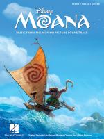 Book cover image for Moana: Vocal Selections
