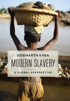 Book cover image for  Modern slavery : a global perspective