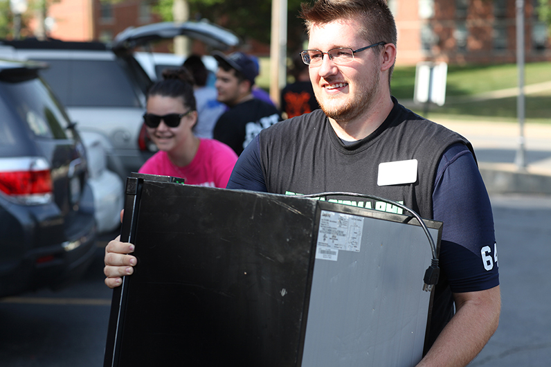 Millikin Move-In Day