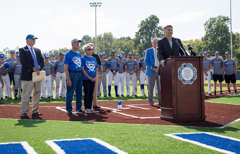 Millikin University Workman Family Baseball Field