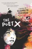 Book cover image for The poet X