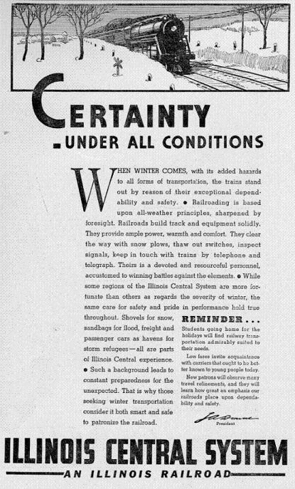Advertisement from 11 December 1936 Decaturian (p3)