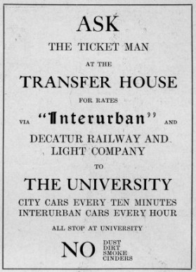 Advertisement from May 1907 Decaturian (p19)