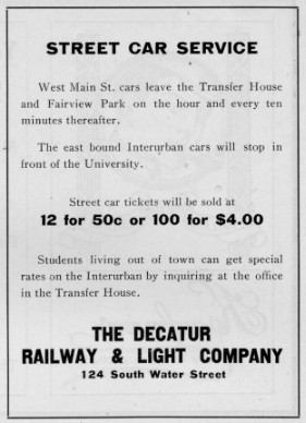Advertisement from November 1904 Decaturian (p23)