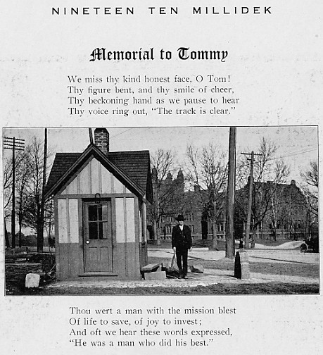 Memorial to Watchman Tommy