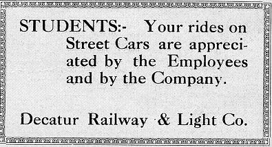 AD from Decaturian 29 September 1921 page 3