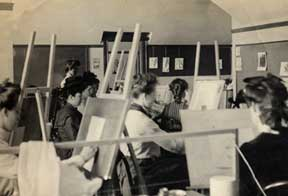 1903 painting class