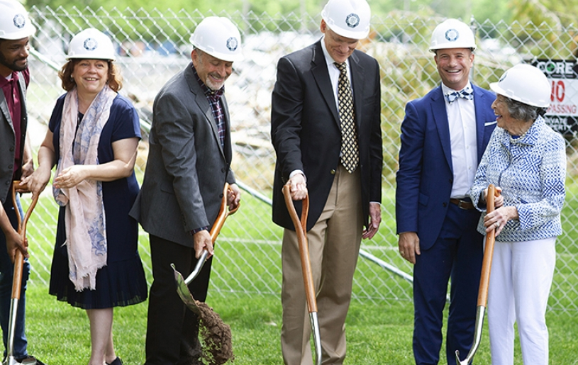 Millikin Center for Theatre and Dance Groundbreaking
