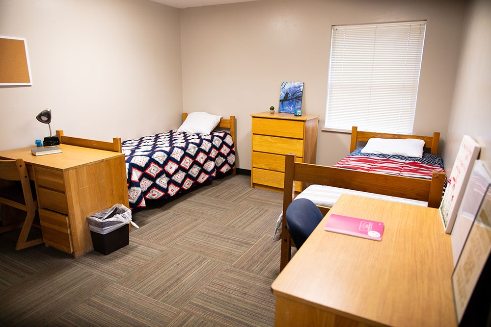 Weck Hall Bedroom