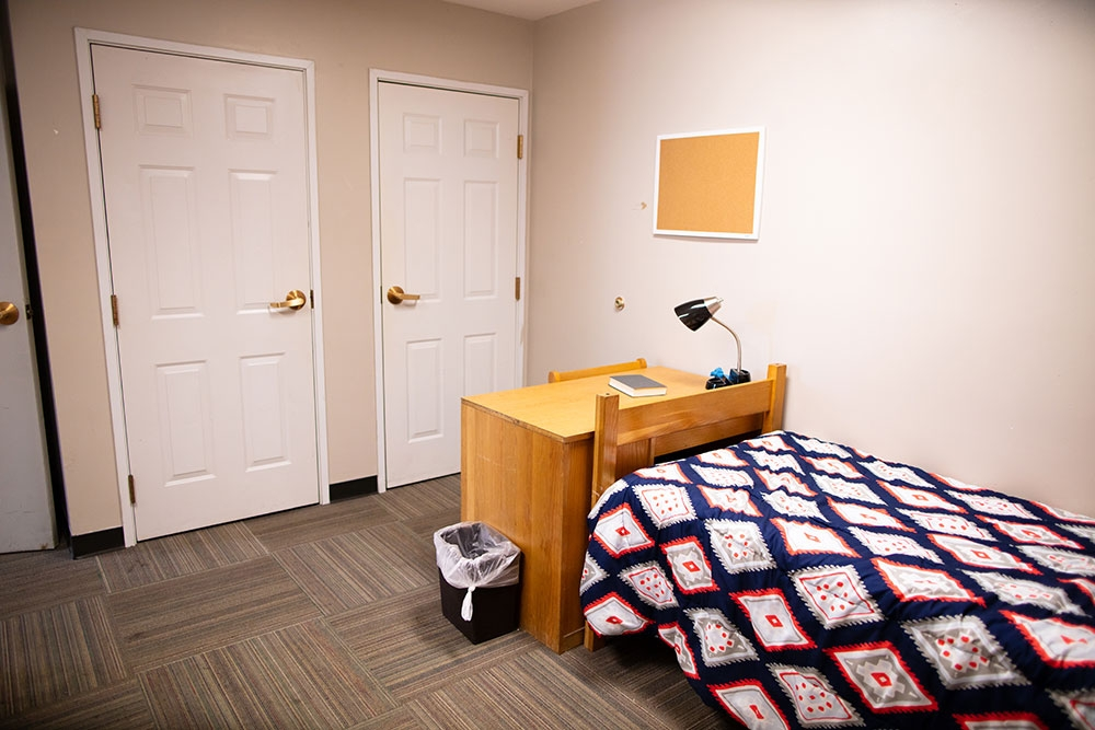 Weck Hall Bed and Closet