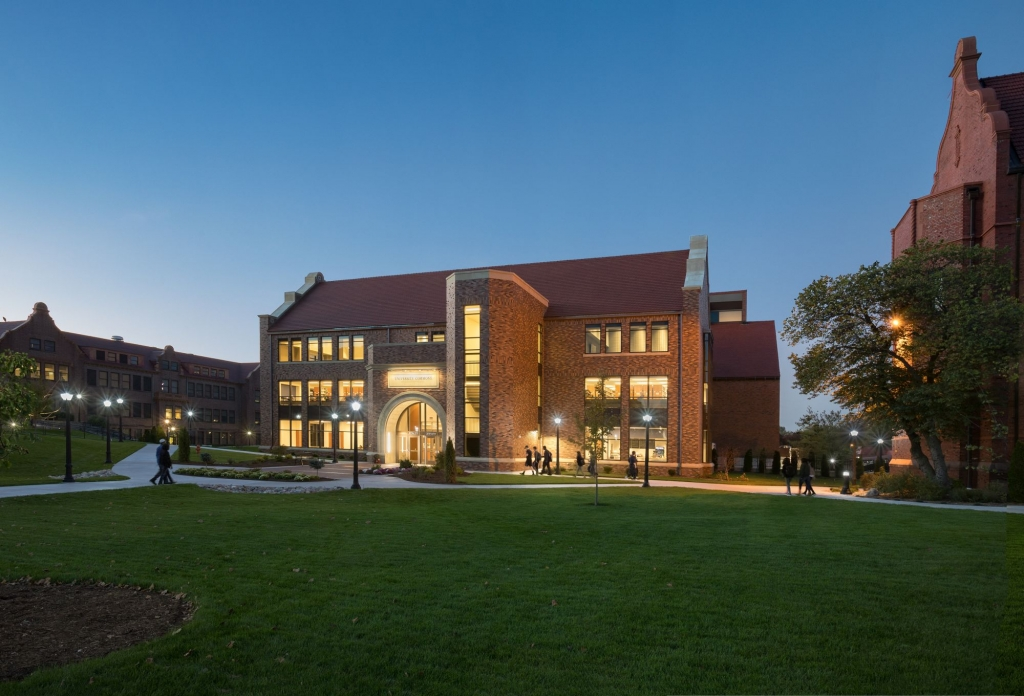 University Commons at Dusk from the South