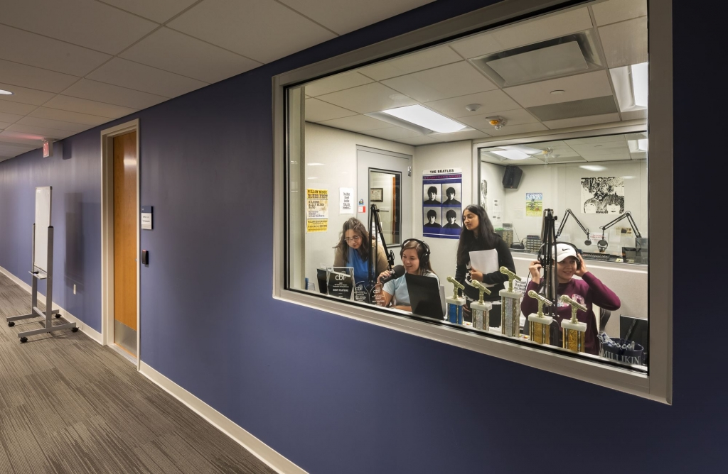 University Commons WJMU Radio Station/The Deacturian Production Office