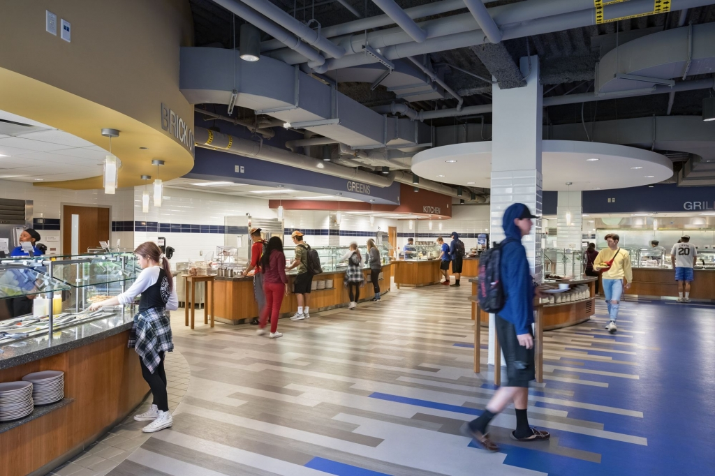 University Commons Dining Servery