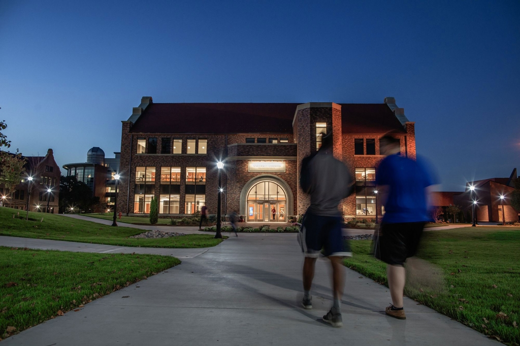 University Commons Evening from the South
