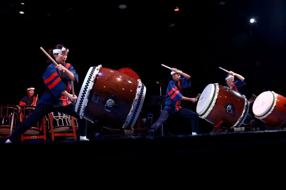 taikoza drums in action