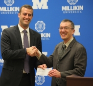 Millikin 300 Below Press Conference