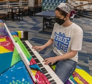 Millikin Public Painted Pianos Project