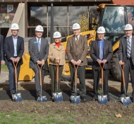 University Commons Groundbreaking