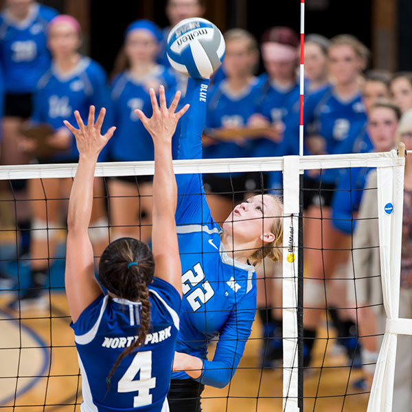 millikin volleyball athlete