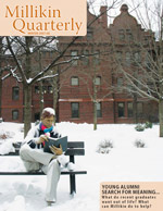 millikin magazine winter 2007-08
