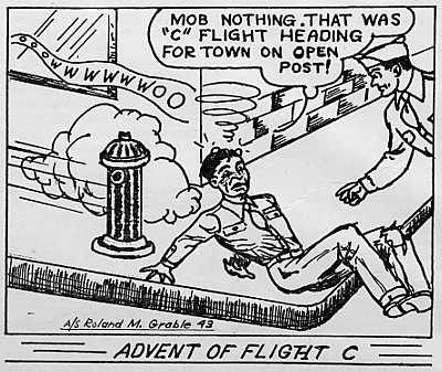 Cadet cartoons, October 1943 Decaturian